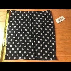 F21 knit polka dot mini NEW W TAGS
